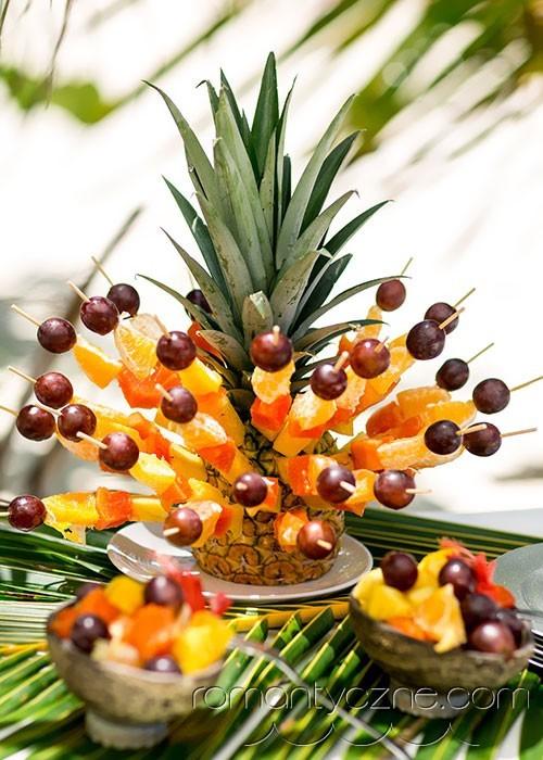 Owocowy przysmak, ślub w tropikach