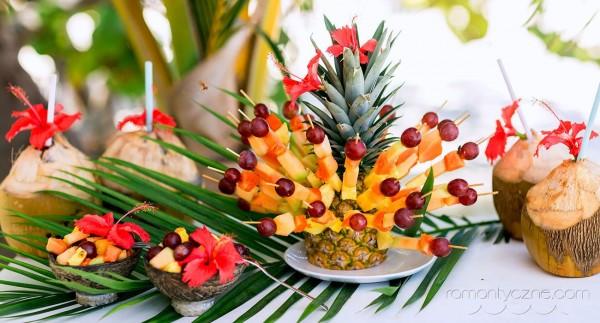 Słodkie dodatki, owoce