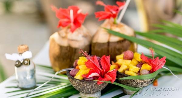 Ślub na rajskiej plaży, dodatki