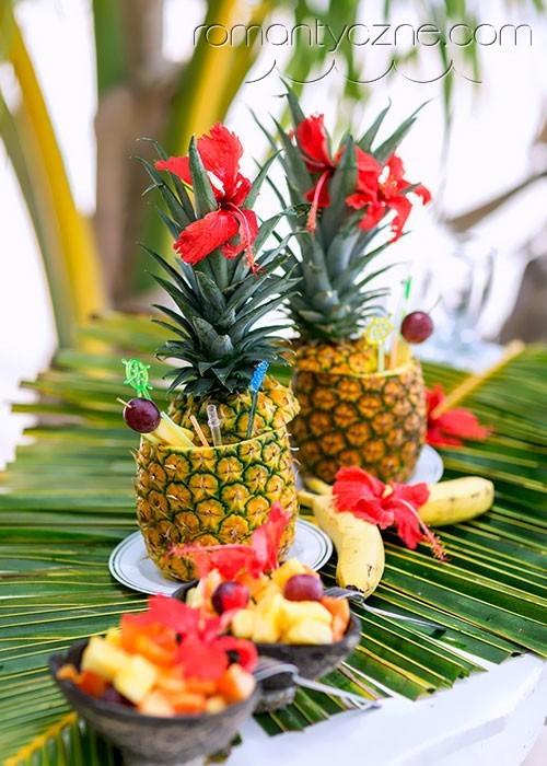 Ślub na plaży, słodkie inspiracje, Dominikana