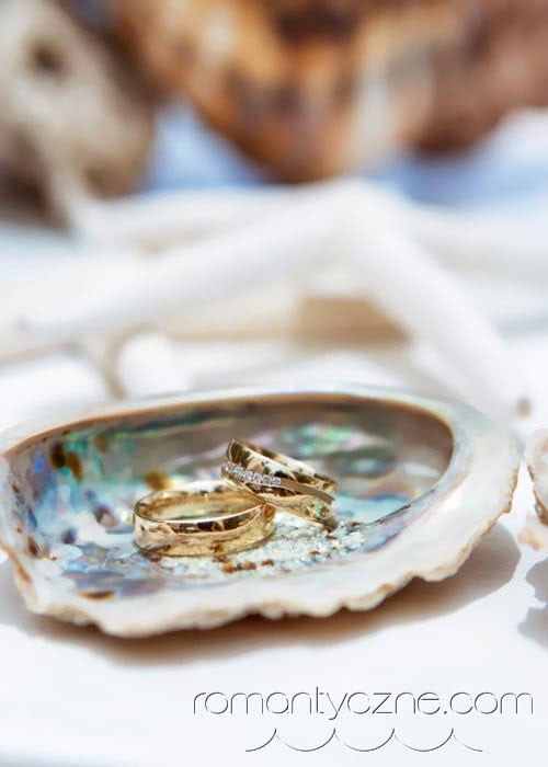 Zaręczyny na prywatnej plaży, organizacja ceremonii