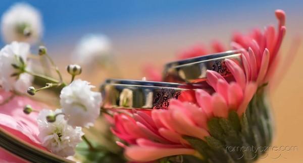 Śluby oficjalne na prywatnej plaży, tropikalne śluby