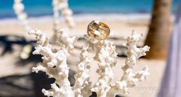 Śluby na tropikalnej plaży, wyspa Saona