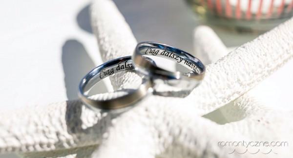 Śluby za granicą Saona Island, obrączki ślubne
