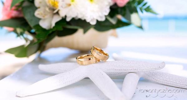 Śluby na tropikalnej plaży